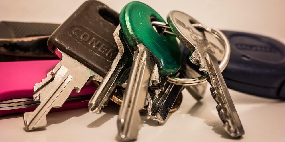 rekey keys, set of keys