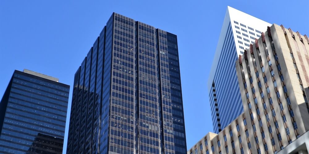 choosing a secure commercial property, high rise buildings