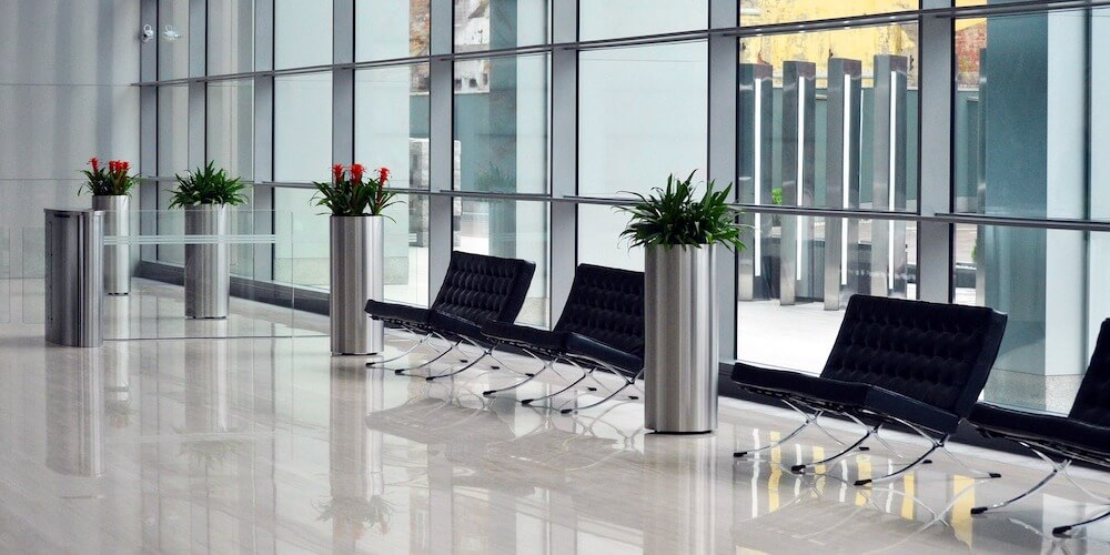 office foyer, salto commercial security